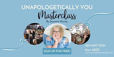 Unapologetically You Masterclass tickets