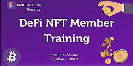 DeFi NFT Member Training tickets