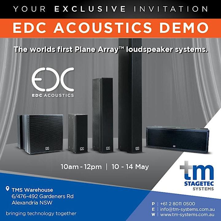 EDC Speakers DEMO image