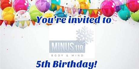 Minus110's 5th Birthday Celebration tickets