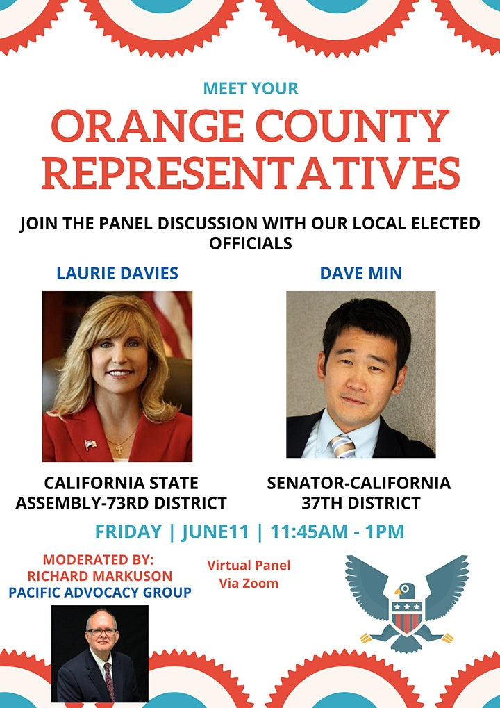 June Luncheon: Meet your Orange County State Representatives image