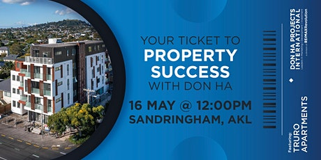 Your Ticket to Property Success with Don Ha tickets