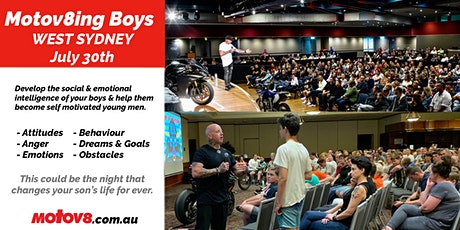 Motov8ing Boys - West Sydney tickets