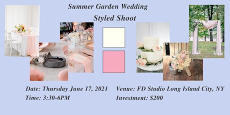 Summer Garden Wedding Styled Shoot tickets
