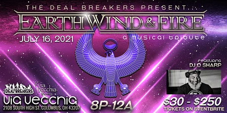 The Deal Breakers Present: The Earth Wind & Fire Tribute tickets