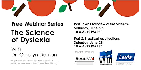 The Science of Dyslexia with Dr. Carolyn Denton tickets