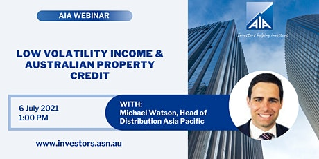 Low Volatility Income & Australian Property Credit tickets