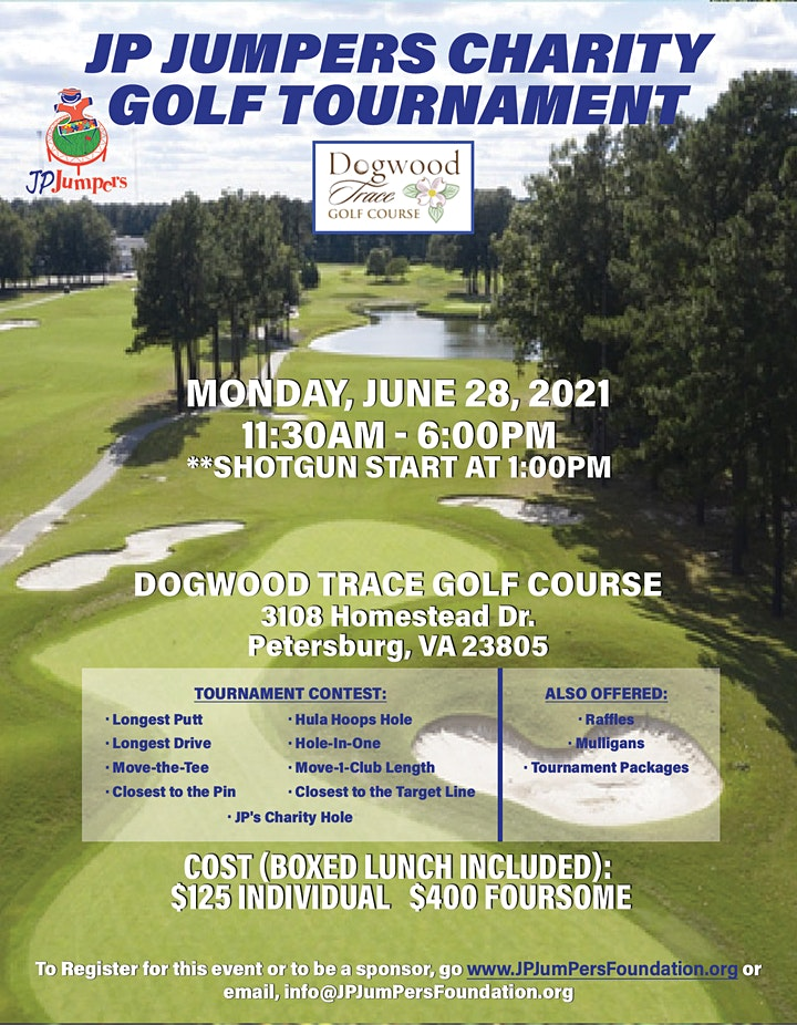 2021 JP JumPers Charity Golf Tournament image