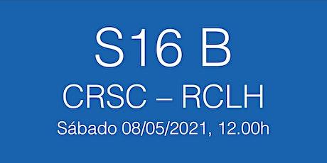 S16B Playoffs Lliga Catalana CRSC - RCLH, sábado 08/05/21 - 12.00h entradas
