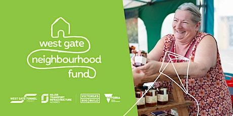 West Gate Neighbourhood Fund - Maribyrnong Grant Writing Workshop #1 tickets
