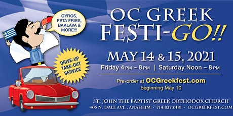 OC Greek Drive Thru Festi-GO tickets
