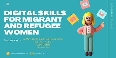 Digital Skills for migrant and refugee women tickets