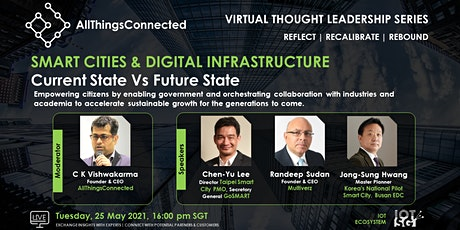 Smart Cities & Digital Infrastructure : Current State to Future State tickets