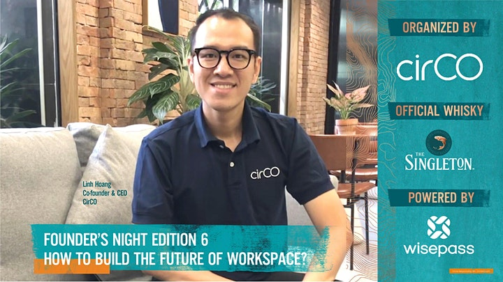 Founder's Night Edition 6 - How to build the future of workspace? image