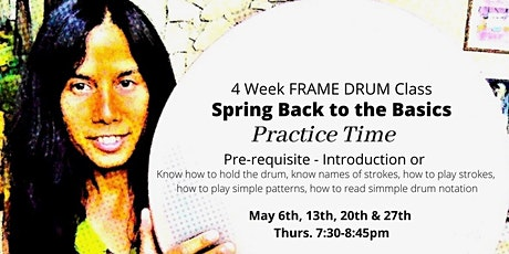 Spring Back to the Basics Frame Drum Class with Miranda Rondeau tickets