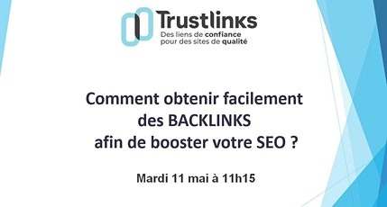 Comment obtenir facilement des Backlinks   ? tickets