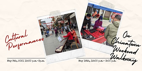 Cultural Performances on Chinatown Weekend Walkway tickets