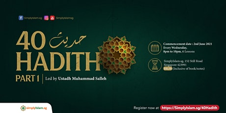 Forty Hadith (Part 1) tickets