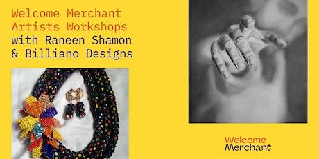 Unite with Welcome Merchants- Bead Jewellery & Charcoal Art Workshops tickets