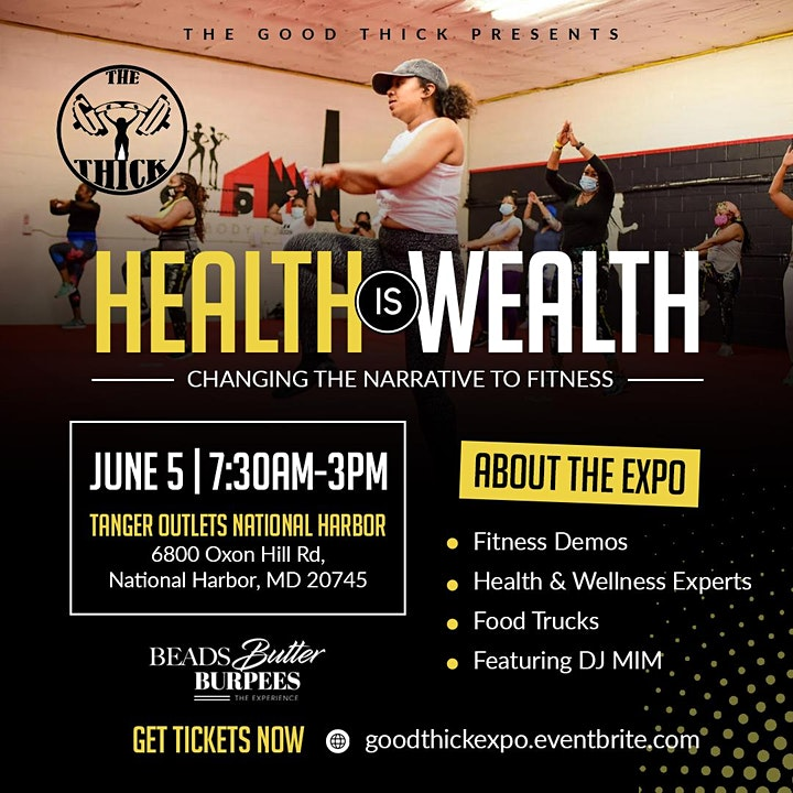 The Good Thick presents: Health is Wealth Expo LIV image