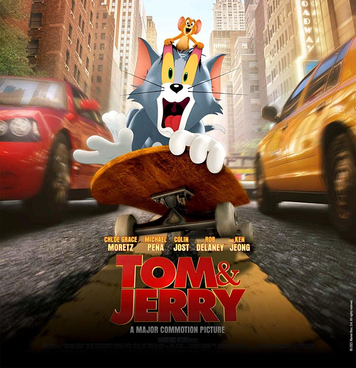 FORT MASON FLIX: Tom and Jerry (2021) image
