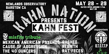 Kahn Fest tickets