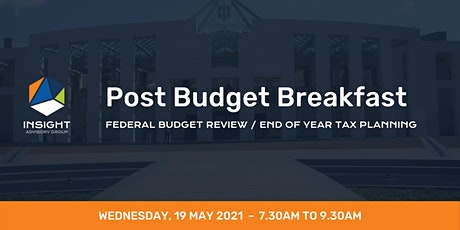 Post Budget 2021 Breakfast tickets