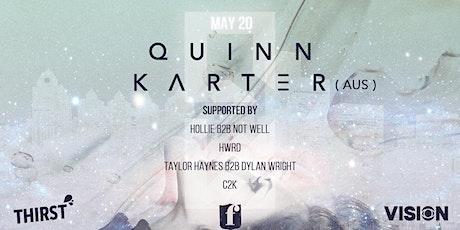 The Ferguson Presents: QUINN KARTER (AUS) tickets