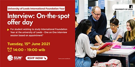 IFY University of Leeds - One on One Session 15 Juni 2021 tickets