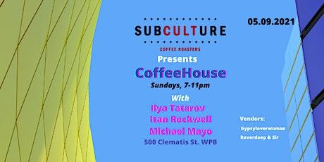 CoffeeHouse Sundays tickets