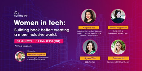 Women in tech: Building back better: creating a more inclusive world tickets