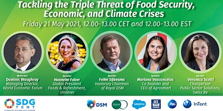 Tackling the Triple Threat of Food Security, Economic, and Climate Crises tickets