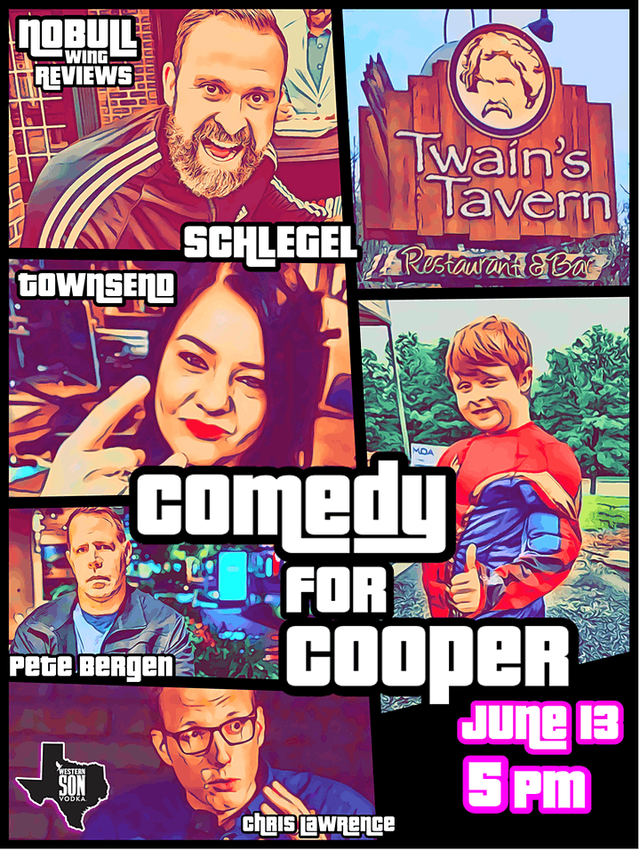 Comedy For Cooper image