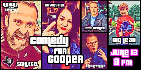 Comedy For Cooper tickets