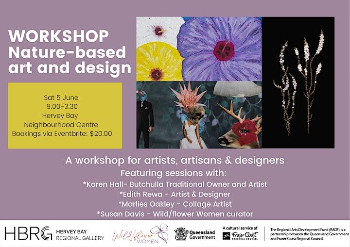 Nature-based art and design workshop image