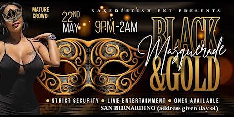 Black & Gold Masquerade Ball tickets
