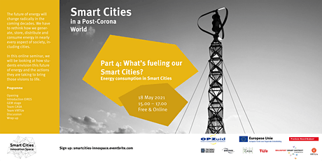 """Smart Cities Part 4: """"What's fueling our Smart Cities"""" tickets"""