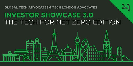 Investor Showcase 3.0: The Tech for Net Zero Edition tickets