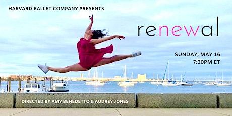 Harvard Ballet Company Presents: renewal tickets