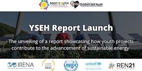 YSEH Progress Report Launch tickets