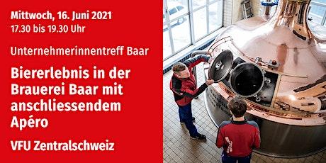 Unternehmerinnen-Treff Baar, Zentralschweiz, 16.06.2021 Tickets
