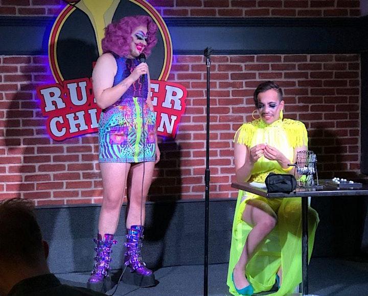 Drag Queen Bingo! Free Event, Bingo Wednesday at The Rubber Chicken image