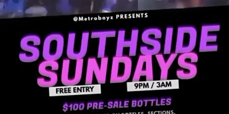 Southside Sundays (Free Entry)$125 Premium Bottles @ FUSION • 404.576.8471 tickets