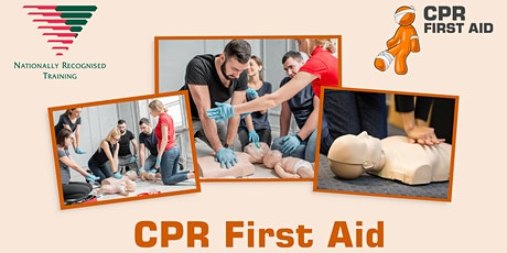 EXPRESS CPR Refresher 30 mins + online theory - Brisbane City tickets