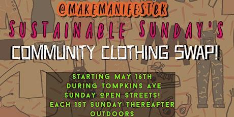 Sustainable Sunday's Community Clothing Swap tickets