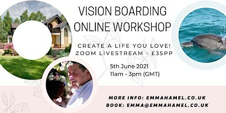 Vision Boarding Online Workshop tickets