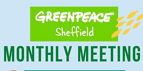 Sheffield Greenpeace May Meeting tickets