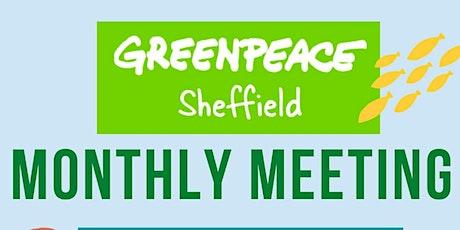 Sheffield Greenpeace May Meeting tickets
