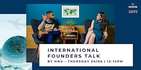 International Founders Talk Vol. 2 tickets