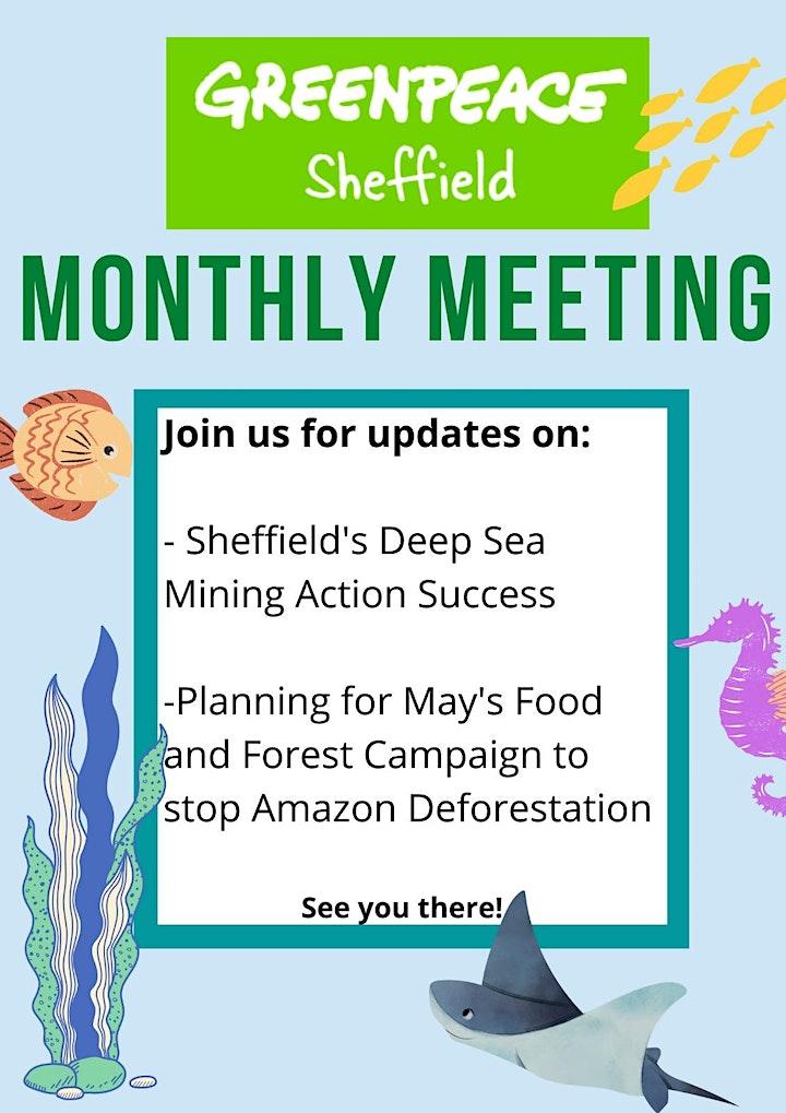 Sheffield Greenpeace May Meeting image